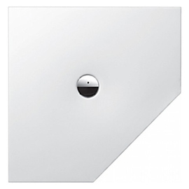 BETTEFLOOR CARO Bodengleiche Duschfläche 900 x 900 mm, weiss