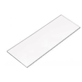 HEWI 477 Glasplatte, 8 mm stark B 197 mm, aus Klarglas