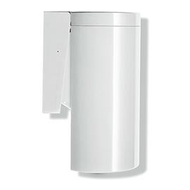 HEWI 477 Abfallbehälter, Wandmontage 6 Ltr., mit Klappdeckel, reinweiss