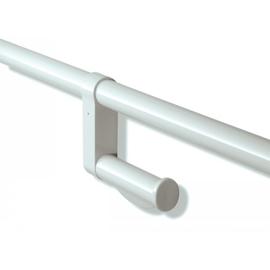 HEWI 801-WC-Papierhalter zum Nachrüsten reinweiss