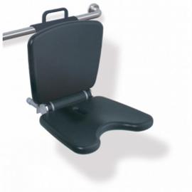 HEWI LifeSystem Einhängesitz Komfort Sitzhöhe verstellbar, anthrazitgrau