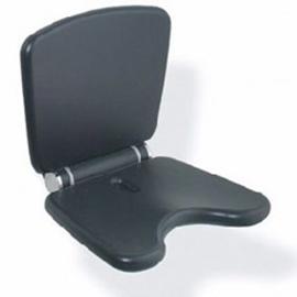 HEWI LifeSystem Klappsitz Komfort Sitzhöhe verstellbar, anthrazitgrau