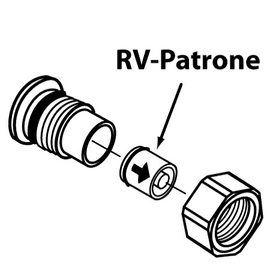 IDEAL STANDARD RV-Patrone kpl.zu IDEALUX Junior W.Nr.A962594, 2 Stck