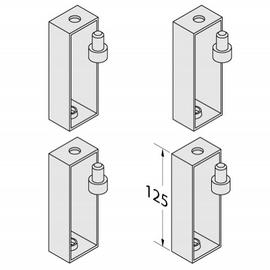BETTEFUSS-SYSTEM Distanzstücke 125 mm, 4 Stück