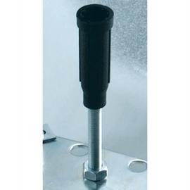 BETTEFUSS-SYSTEM 6 Stk höhenverstellbare Füsse für Duschwannen 1200x700-1000x35 mm