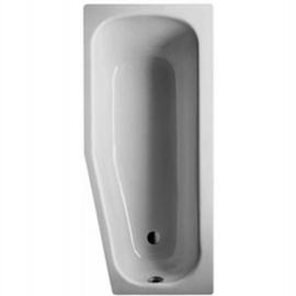 BETTEBAMBINO Kleinraum-Badewanne rechts 1570 x 700/550 x 420 mm,weiss