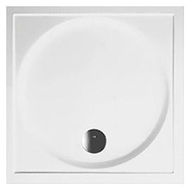 BETTEDARLING Rechteck-Duschwanne 1000 x 1000 x 65 mm, weiss