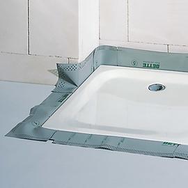 BETTEDICHTSYSTEM für Duschwannen bis 1100 mm und 35/65 mm tief