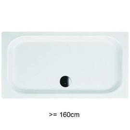 BETTEDUSCHWANNEN EXTRAFLACH 6,5cm, 700 x 1600 x 65 mm, weiss