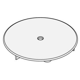 BETTE-Ersatzdeckel Nr. Z0016020 weiss für Ablaufgarnitur B574 zu Duschwannen und Duschflächen