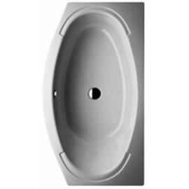 BETTEHOME OVAL Badewanne1800 x 1000/750 x450mm, weiss