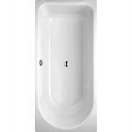 BETTEOCEAN Badewanne 1700x800x450 mm, FE re., Überlauf hinten, weiss
