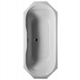 BETTEPRISMA 8-Eck-Badewanne 1800 x 800 x 450 mm,weiss