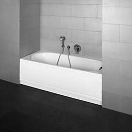 BETTEPUR COMFORT Nische, Badewanne 1700x750x450mm, Ablauf links, weiss