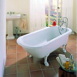 BETTEROMA freistehende Badewanne 1700 x 750 x 420 mm,weiss