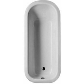 BETTEROMANTICA freistehende Badewanne 1700 x 750 x 420 mm,weiss