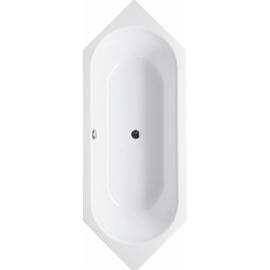 BETTESTARLET SECHSECK Badewanne 1880 x 700 x 420 mm,weiss