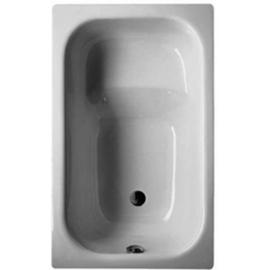 BETTESTUFENWANNE Kleinraum-Badewanne 1050 x 650 x 420 mm,weiss