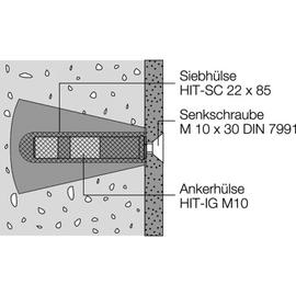 HEWI 801 Befestigungsset BM11.2 für Griffe und Duschspritzschutz