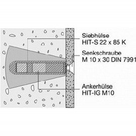 HEWI LifeSystem-Befestigungssatz für Stützklappgriff/Klappsitz