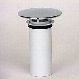 DALLMER-Abdeckhaube TELOS Bausatz 2, mit Standrohr, chrom