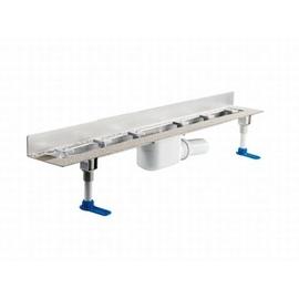 DALLMER CeraLine W Linienentwässerung 2000 mm, Bauhöhe 110 mm, Edelstahl