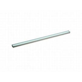 DALLMER CeraLine Glas-Abdeckung, Glas grün 500 mm, Edelstahl