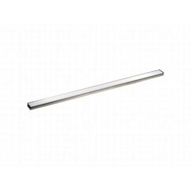DALLMER CeraLine Glas-Abdeckung, Glas weiss 500 mm, Edelstahl