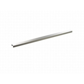 DALLMER CeraLine Design-Abdeckung 500 mm, Edelstahl poliert