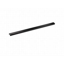 DALLMER CeraLine Design-Abdeckung 500 mm, Edelstahl mattschwarz