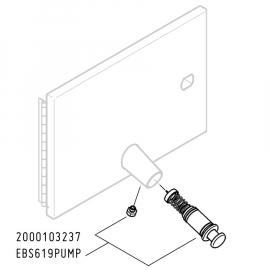 FRANKE Ersatzteile Seifenpumpe Set EBS619PUMP für Rodan RODX619