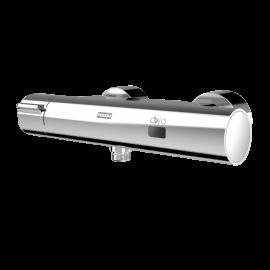 FRANKE F5ET2003 Elektronik-Duscharmatur für Batterieberieb mit Thermostat und Handbrauseanschluss