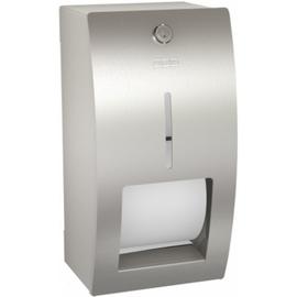 FRANKE STRATOS STRX672 WC-Rollenhalter für 2 Rollen,absperrbar, edelstahl matt