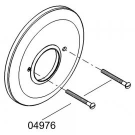 GROHE Schraube 04976 für Rosette M5x60 2 Stück chrom