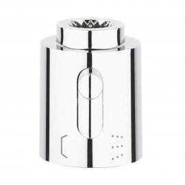 GROHE Absperrgriff 06654 für Aquadimmer Atrio Thermostatbatterie chrom