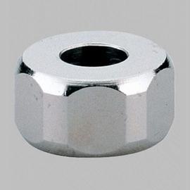 """GROHE Verschraubung 12901 1/2"""" Bohrung 10,5mm vernickelt chrom 2 Stück"""