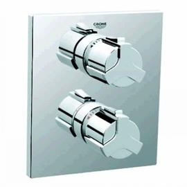 GROHE Allure UP-Thermostat-Brausebatterie 19380 Fertigmontageset für Rapido T chrom