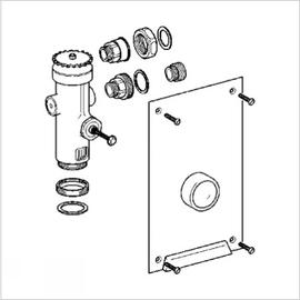 GROHE WC-Druckspüler 42902 Wandeinbau DN20 Austauscharmatur