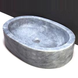 Forzalaqua Firenze Marmor matt-poliert 50x35x13cm