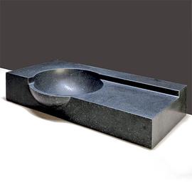 Forzalaqua Laguna Basalt matt-poliert 80x40x12/15cm