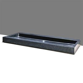Forzalaqua Palermo Basalt matt-poliert 120,5x51,5x9cm