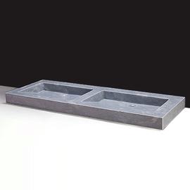 Forzalaqua Palermo Doppio Marmor matt-poliert 140,5x51,5x9cm