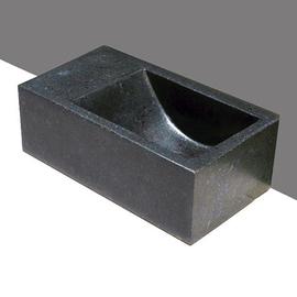 Forzalaqua Venetia XS Basalt matt-poliert 29x16x10cm, L
