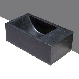 Forzalaqua Venetia XS Basalt matt-poliert 29x16x10cm, R