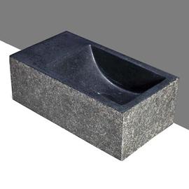 Forzalaqua Venetia XS Basalt beflammt-gebürstet 29x16x10cm, L