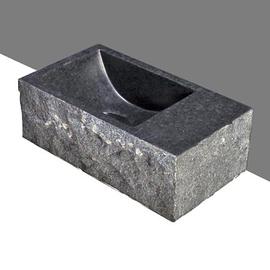 Forzalaqua Venetia XS Basalt geprellt 29x16x10cm, R
