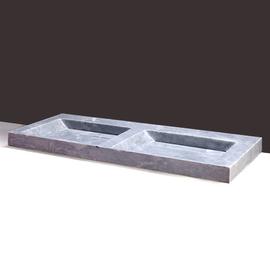 Forzalaqua Bellezza Doppio Marmor matt-poliert 140,5x51,5x9cm
