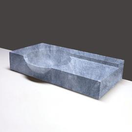Forzalaqua Laguna Marmor matt-poliert 80x40x12/15cm