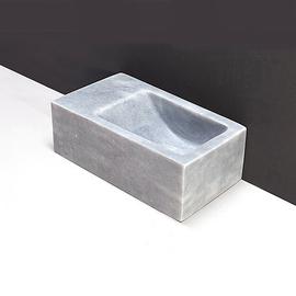Forzalaqua Venetia XS Marmor matt-poliert 29x16x10cm, L