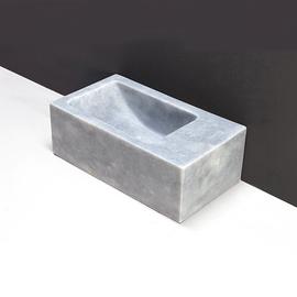Forzalaqua Venetia XS Marmor matt-poliert 29x16x10cm, R